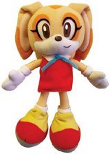 Sonic X Cream the Rabbit Plush