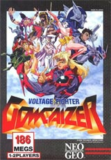 Voltage Fighter Gowcaizer Neo Geo AES