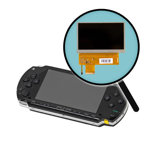 PSP Replacement LCD Screen w/ Backlight