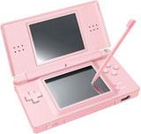Nintendo DS Lite Coral Pink Bundle