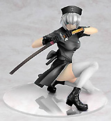 Ikki Tousen: Ryomo Shimei Black Gloss Version PVC Figure