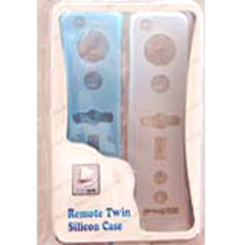 Wii Remote Twin Silicon Skin Cases