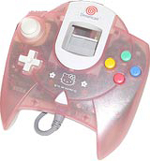Dreamcast Controller Hello Kitty Pink