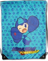 Mega Man Powered Up Draw String Bag