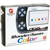Bandai WonderSwan Color System Crystal Black