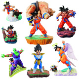 Dragon Ball Z Warrior Race Saiyan Capsule Figures