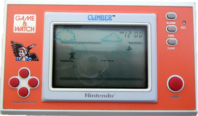 Game & Watch New Wide Screen Series: Climber