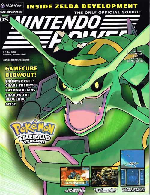 Nintendo Power Volume 192 Pokemon Emerald Version