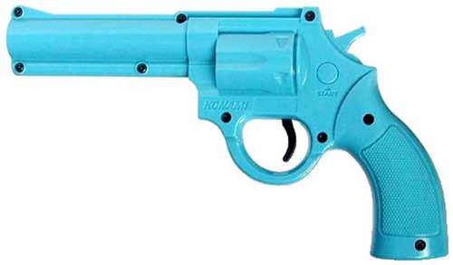 Super Nintendo Justifier Gun / Blue