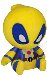 Marvel Deadpool 4.5 Inch Plush Yellow