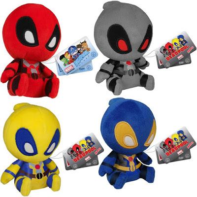 Marvel Yellow Deadpool 4.5 Inch Plush