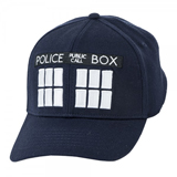 Dr. Who Tardis Navy Flex Cap