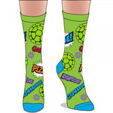 Teenage Mutant Ninja Turtles Jrs. Crew Socks