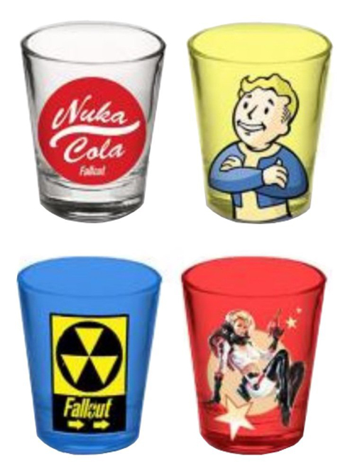 Fallout Variety Shot Glass 4 Pack