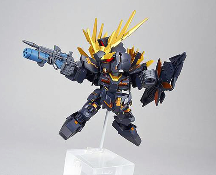 Gundam Unicorn Banshee Norn 015 Destroy Mode Mini Figure
