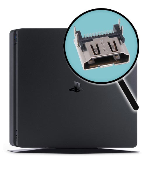 PlayStation 4 Slim Repairs: HDMI Port Replacement Service