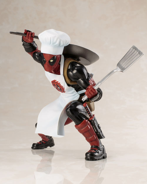Marvel Universe Cooking Deadpool ArtFX+ Model Kit