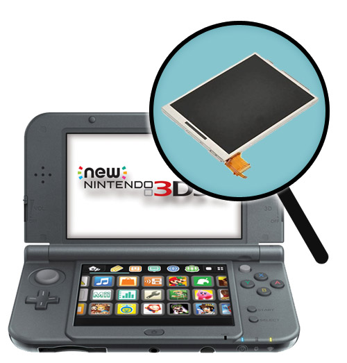 New 3DS XL Repairs: Bottom LCD Screen Replacement Service