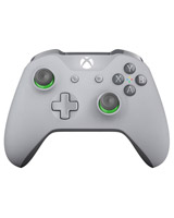 Xbox One S Wireless Grey and Green Controller