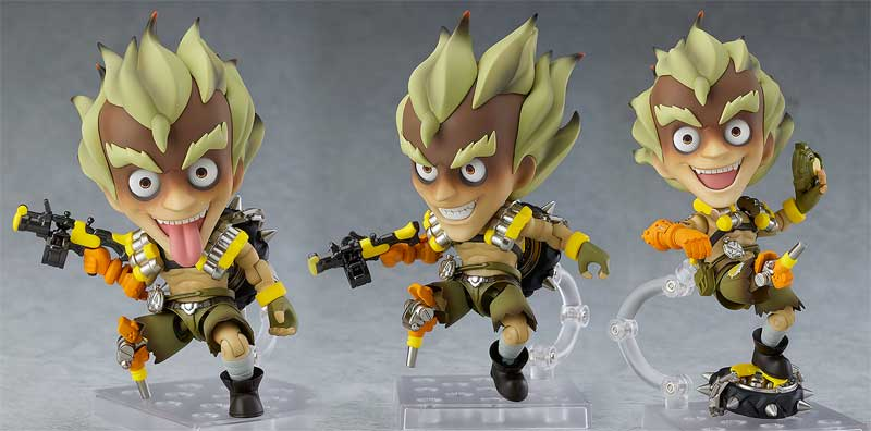 Overwatch Junkrat Nendoroid Classic Skin other poses and accessories