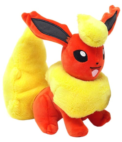 Pokemon Flareon 8 Inch Plush Assortment Wave 2