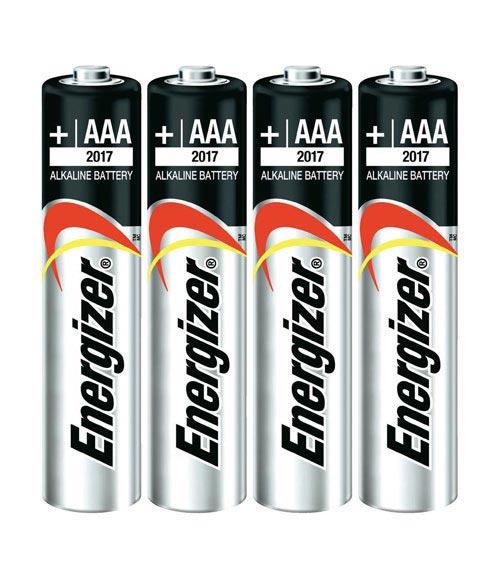 AAA Alkaline Batteries 4 Pack