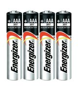 AAA Alkaline Batteries 4 Pack