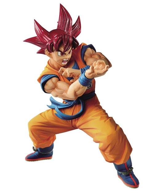 Dragon Ball Super Blood of Saiyans Super Saiyan God Son Goku Special VI Figure