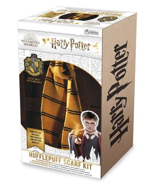 Harry Potter Hufflepuff Scarf Knit Kit