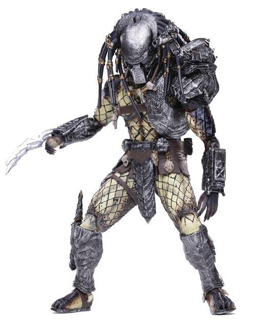 Alien vs. Predator Warrior Predator 1/18 Scale Figure