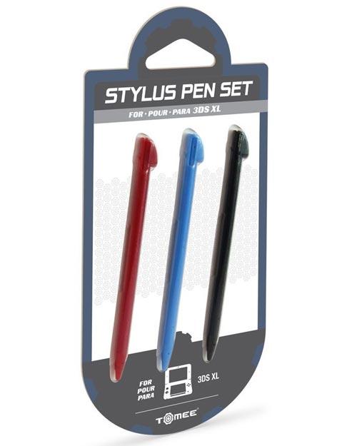 3DS XL Stylus 3 Pack