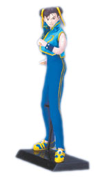 Capcom Queens: Chun-Li Zero 3 Version Dollgures