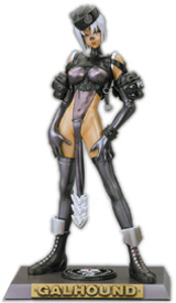 Masamune Shirow's: Intron Depot Galhound PVC Statue