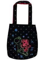Nintendo Neon Mario and Yoshi Tote Bag