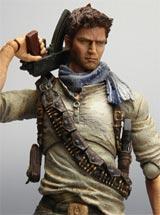 Uncharted 3 Play Arts Kai Nathan Drake Action Figure