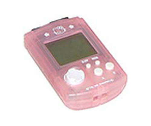 Dreamcast VMU Memory Card Hello Kitty Pink