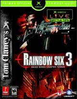 Rainbow Six 3 Strategy Guide Xbox Version