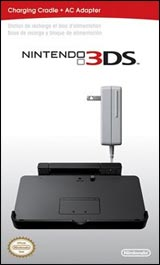 Nintendo 3DS Charging Cradle with AC Adapter