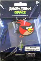 Angry Birds Space Red Bird Lanyard