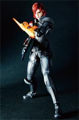 Mass Effect 3 Play Arts Kai Series Two: Female Commander Shepard Action Figure