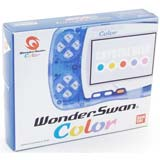 Bandai WonderSwan Color System Crystal Blue