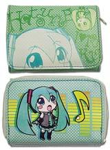 Vocaloid: Chibi Hatsune Miku Tri-Fold Wallet
