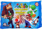 Super Mario Crunchies & Gummies Candy