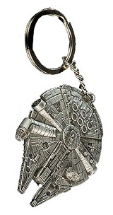 Star Wars Millenium Falcon Replica Keychain
