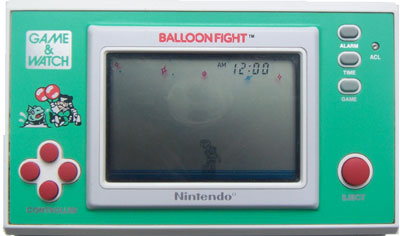 Game & Watch New Wide Screen Series: Balloon Fight