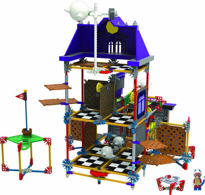 K'Nex Super Mario 3D Ghost House Building Set