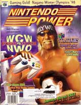 Nintendo Power Volume 105 WCW Vs NWO