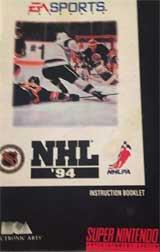 NHL Hockey '94 (Instruction Manual)