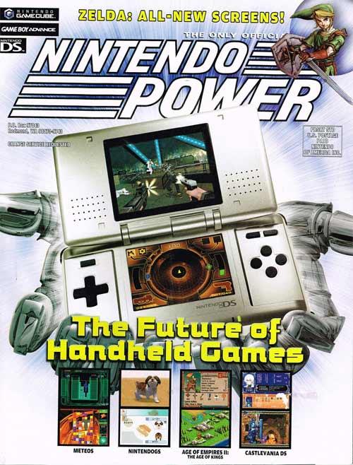 Nintendo Power Volume 191 The Future of Handheld Games