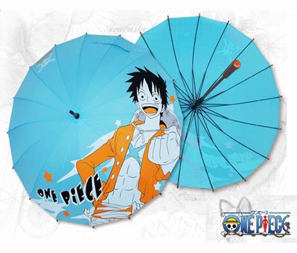 One Piece Luffy Umbrella